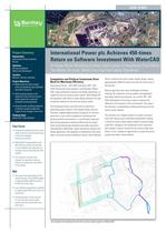 International Power plc Achieves 450-times Return on Software Investment With WaterCAD