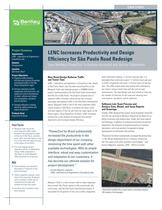 LENC Increases Productivity and Design Efficiency for S&atilde;o Paulo Road Redesign