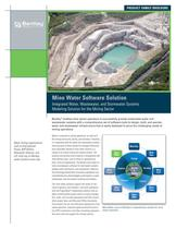 Mine Water Software Solution
