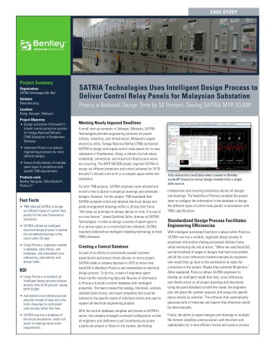 SATRIA Technologies Uses Intelligent Design Process to Deliver