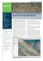 Sri Lanka Survey Department Deploys Bentley Map for Digital Topographic Mapping
