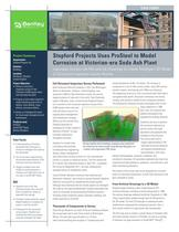 Stopford Projects Uses ProSteel to Model Corrosion at Victorian-era Soda Ash Plant