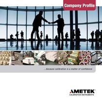 AMETEK Calibration Instruments Company Profile