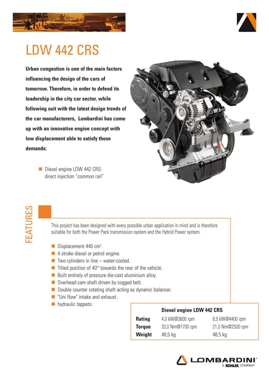LDW 442 diesel - 1 / 2 Pages