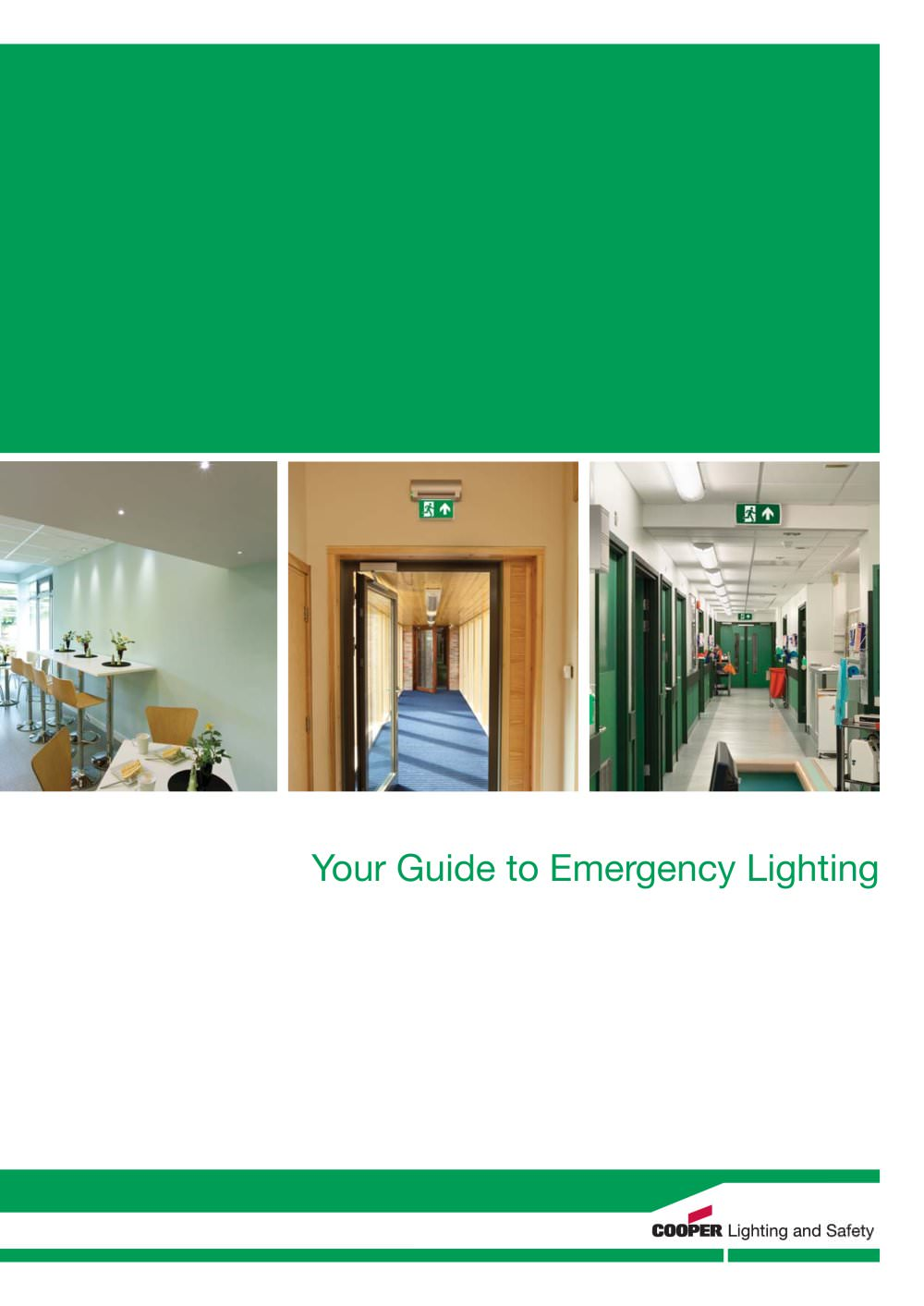 guide to emergency lighting cooper lighting and safety pdf
