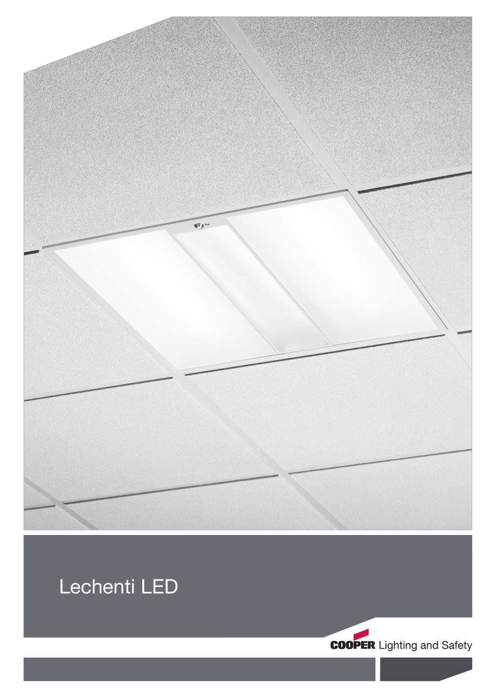 lechenti led cooper lighting and safety pdf catalogue