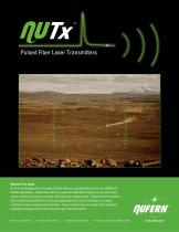 NuTx: Pulsed Fiber Laser Transmitters