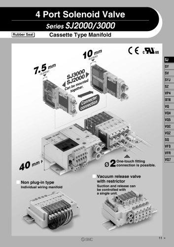 SJ SMC PNEUMATIC PDF Catalogue Technical Documentation Brochure - Smc valve wiring diagrams