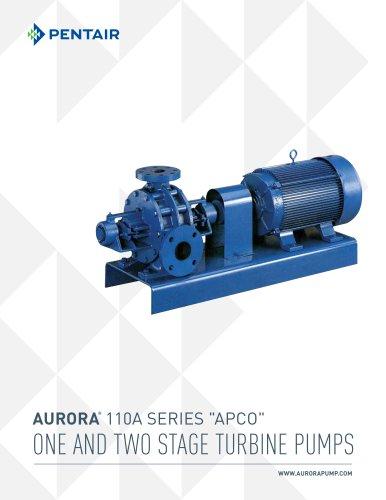 One and Two Stage Regenerative Turbine Series 100 - Aurora