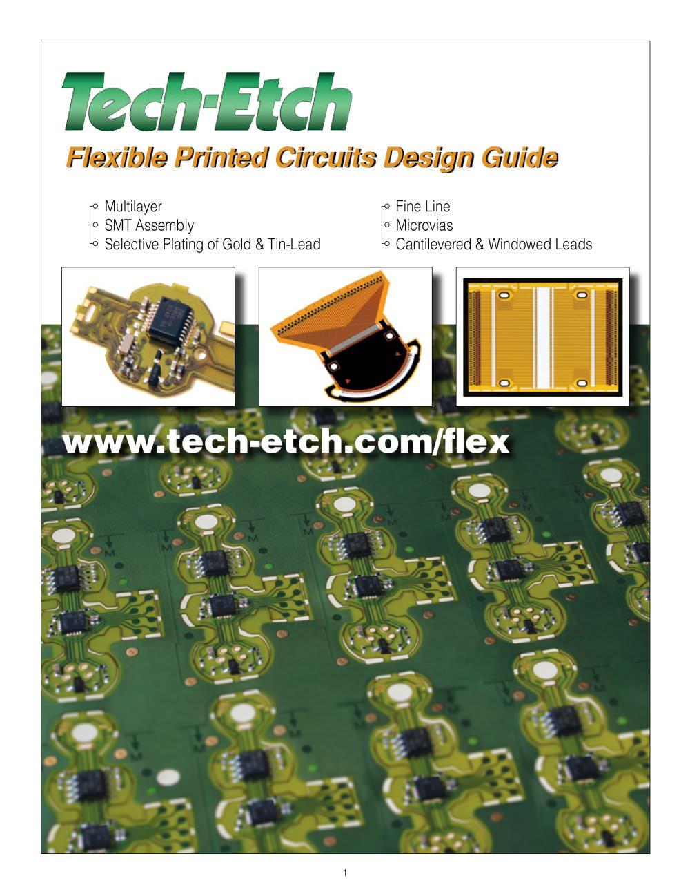 flexible circuit design guide tech etch pdf catalogsflexible circuit design guide 6 pages