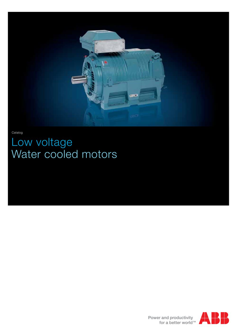 Low voltage water cooled motors abb motors drives and power low voltage water cooled motors 1 44 pages sciox Images