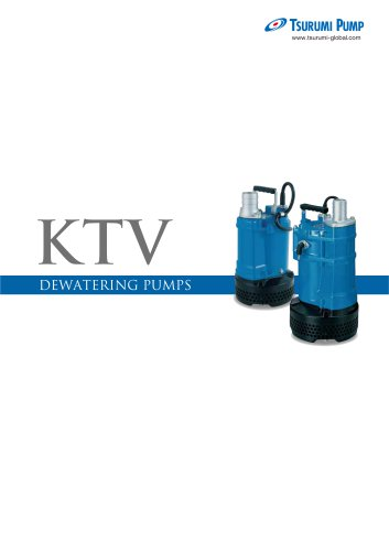 KTV - Tsurumi Pump - PDF Catalogs | Technical Documentation | Brochure