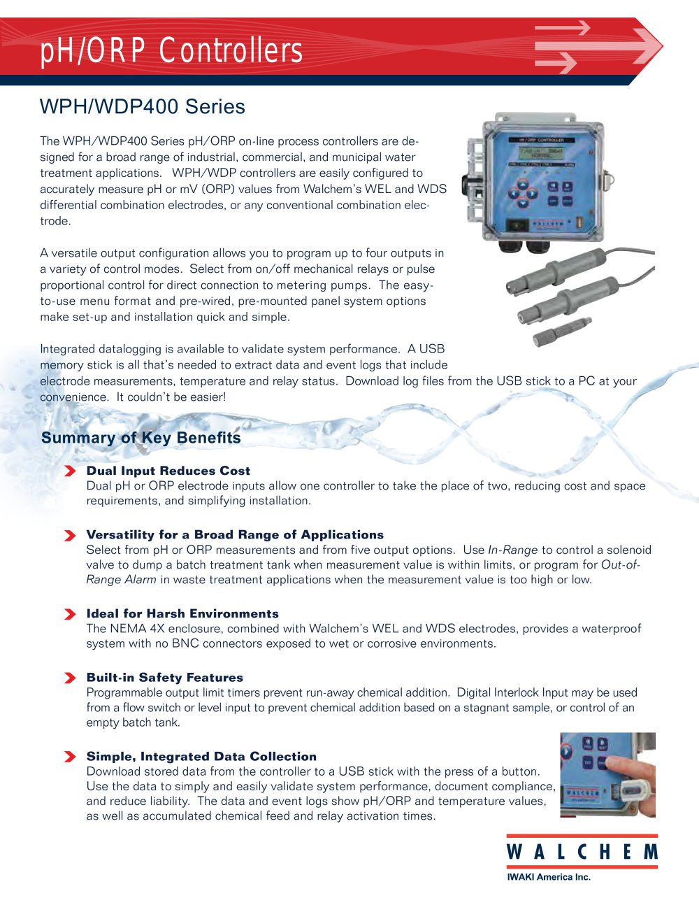 Wph Wdp Walchem Pdf Catalogs Technical Documentation Brochure On Off Pulse Relay 1 4 Pages