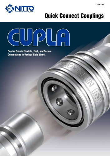CUPLA - Nitto Kohki´s Quick Action Couplings