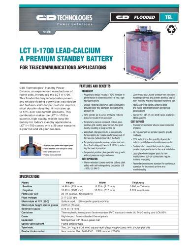 LCT II 1700