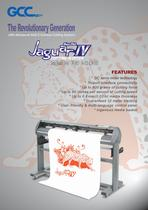 cutting plotter jaguar lV