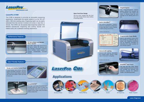 Laser engraving machine C180