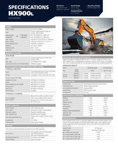HX900L - Hyundai Construction Equipment Americas, Inc  - PDF