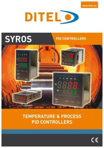 SYROS Temperature & process controllers - DITEL - PDF