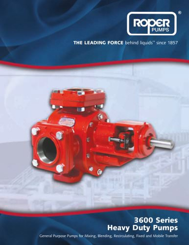 3600 Series - Heavy Duty Pumps