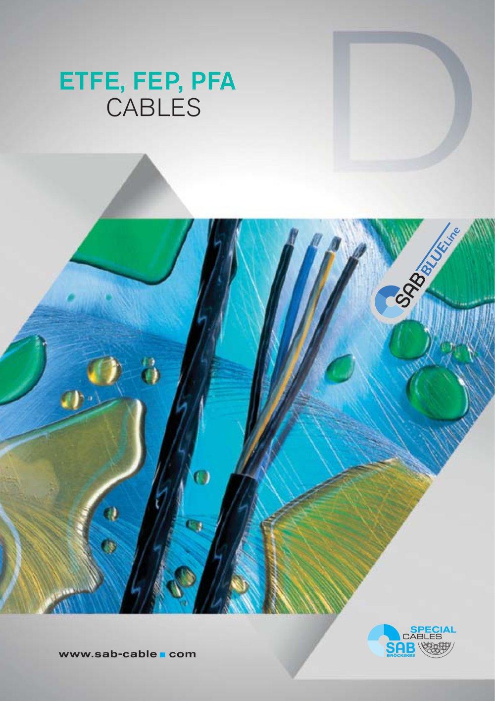 ETFE-, FEP-, PFA Cables - SAB BROECKSKES GMBH & Co. KG - PDF ...