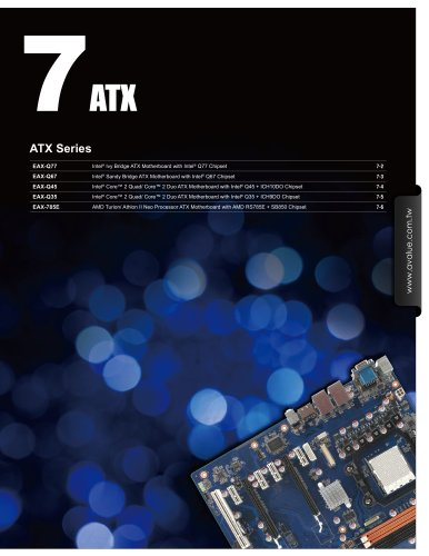 CH7-ATX - Avalue Technology Inc  - PDF Catalogs | Technical