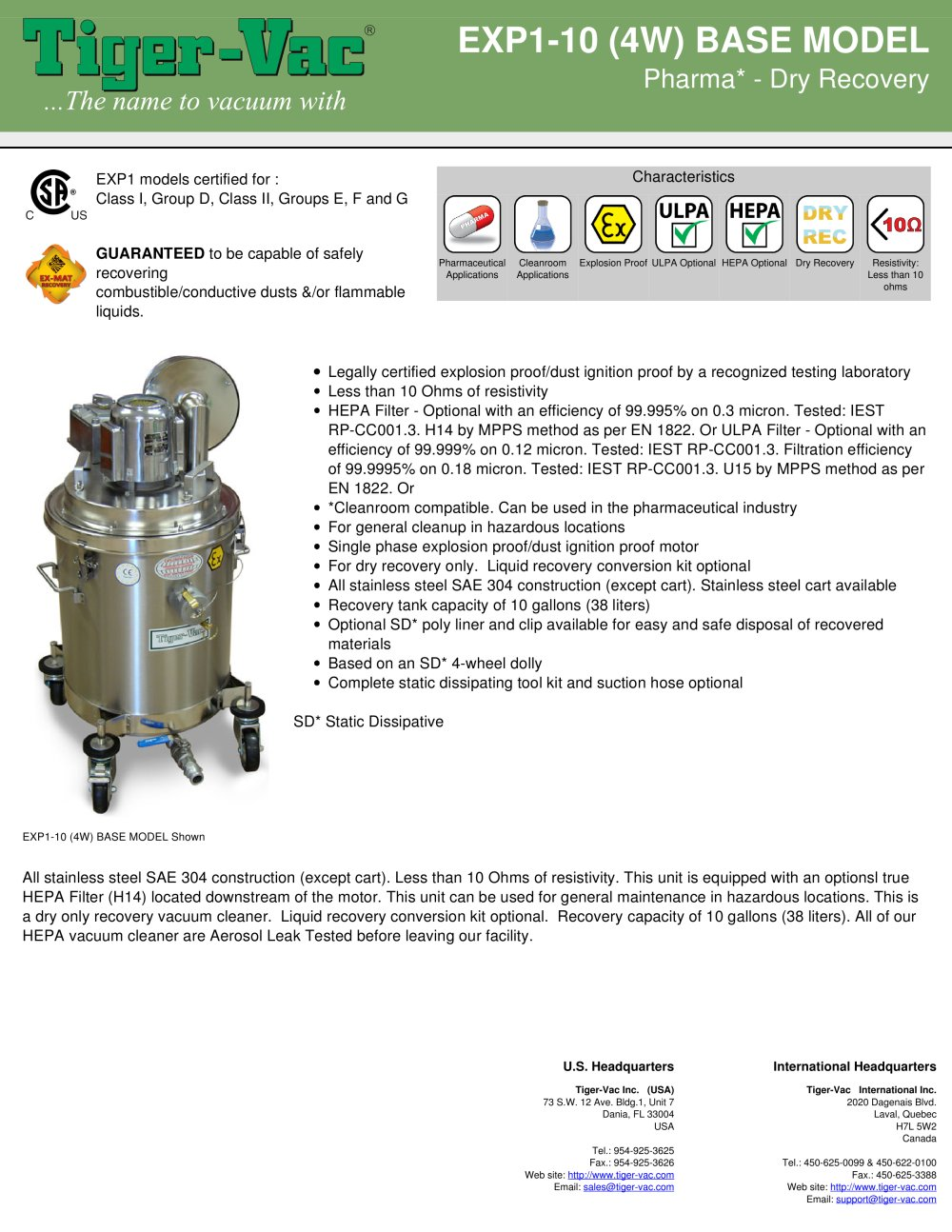 EXP1-10 (4W) BASE MODEL - 1 / 3 Pages