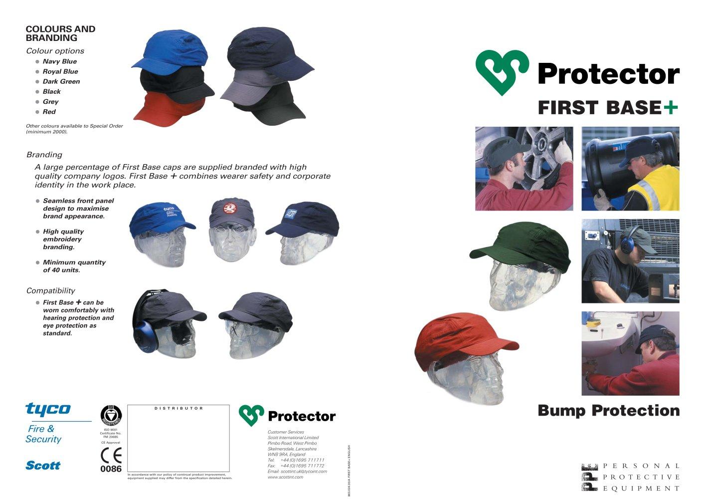 first base bump cap scott safety emea pdf catalogs technical