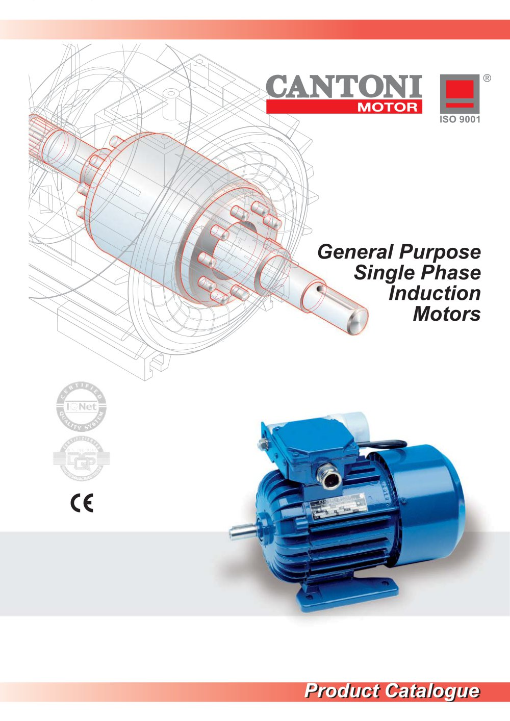 General Purpose Single Phase Induction Motors - 1 / 12 Pages