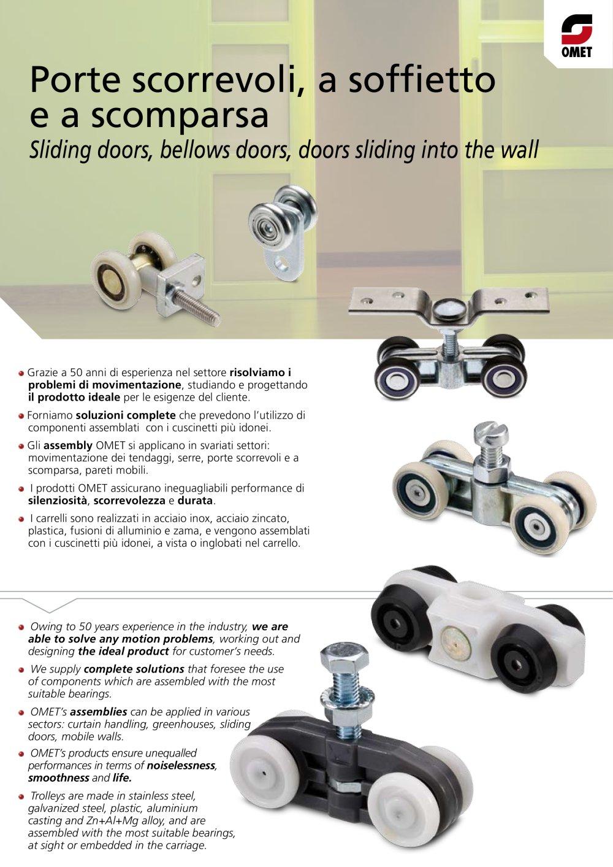 Sliding Door Omet Pdf Catalogue Technical Documentation Brochure