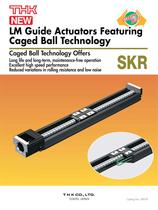 Caged Ball LM Guide Actuator Model SKR