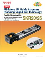 Caged Ball Miniature LM Guide Actuator Model SKR20/26