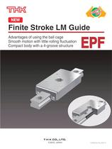 Limited-stroke LM Guide