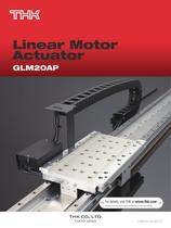 Linear Motor Actuator Model GLM20AP