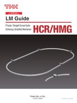 R Guide Model HCR / Straght-Curved Guide Model HMG