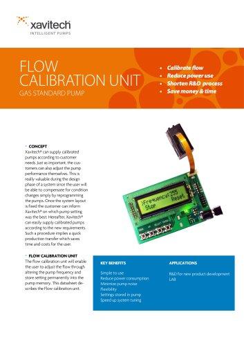 Flow Calibration Unit