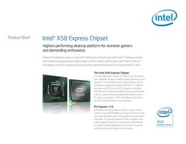 Intel® X58 Express Chipset