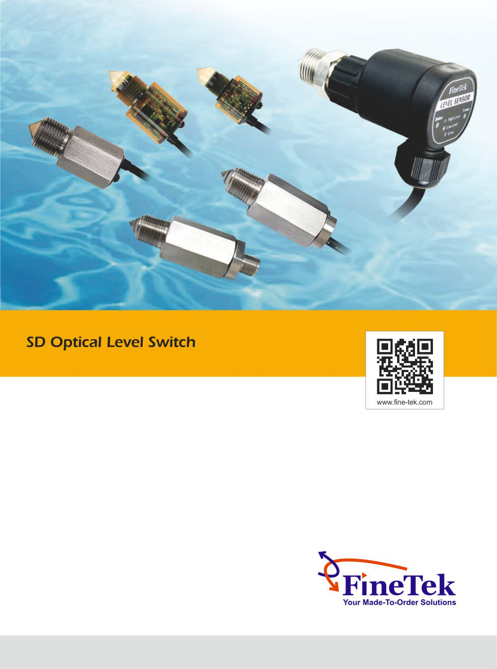 Optical Level Switch Finetek Co Ltd Pdf Catalogue Technical Liquid Wiring Diagram 1 13 Pages