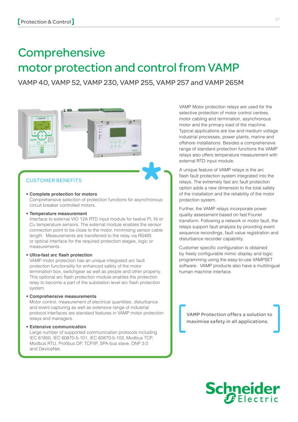 Vamp 40 Pdf Catalogs Technical Documentation Brochure Motor Control Circuits Besides Basic Electrical Wiring 1 24 Pages