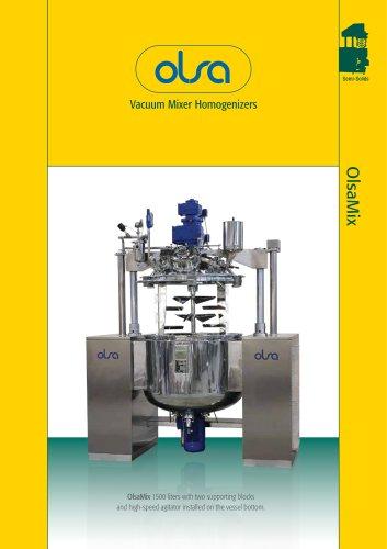 vacuum mixer OlsaMix