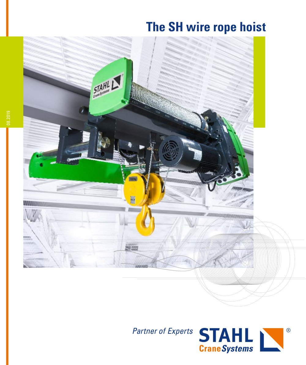 The SH wire rope hoist - STAHL CraneSystems GmbH - PDF Catalogue ...