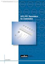 NTC/PTC Thermistors for Automotive 