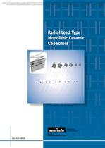 Radial Lead Type Monolithic Ceramic Capacitors