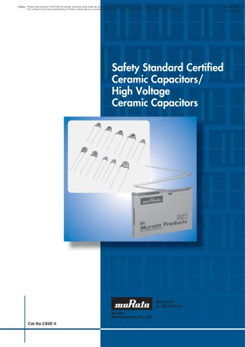 Safety Certified Ceramic Capacitors/High Voltage - Murata