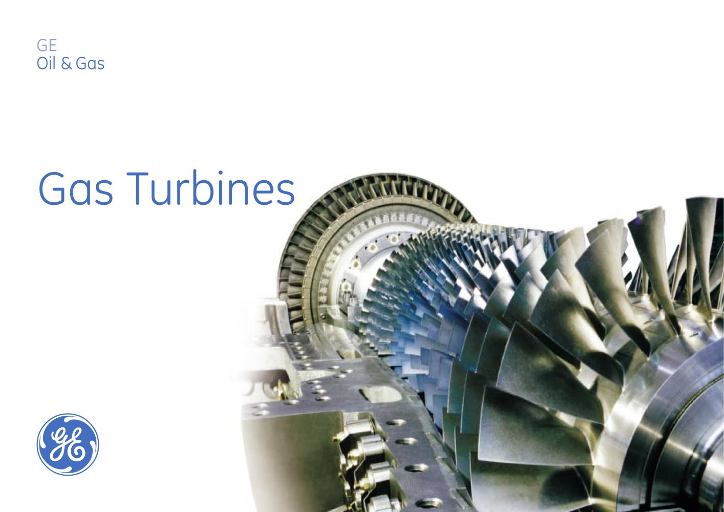Gas Turbines Catalog - 1 / 31 Pages