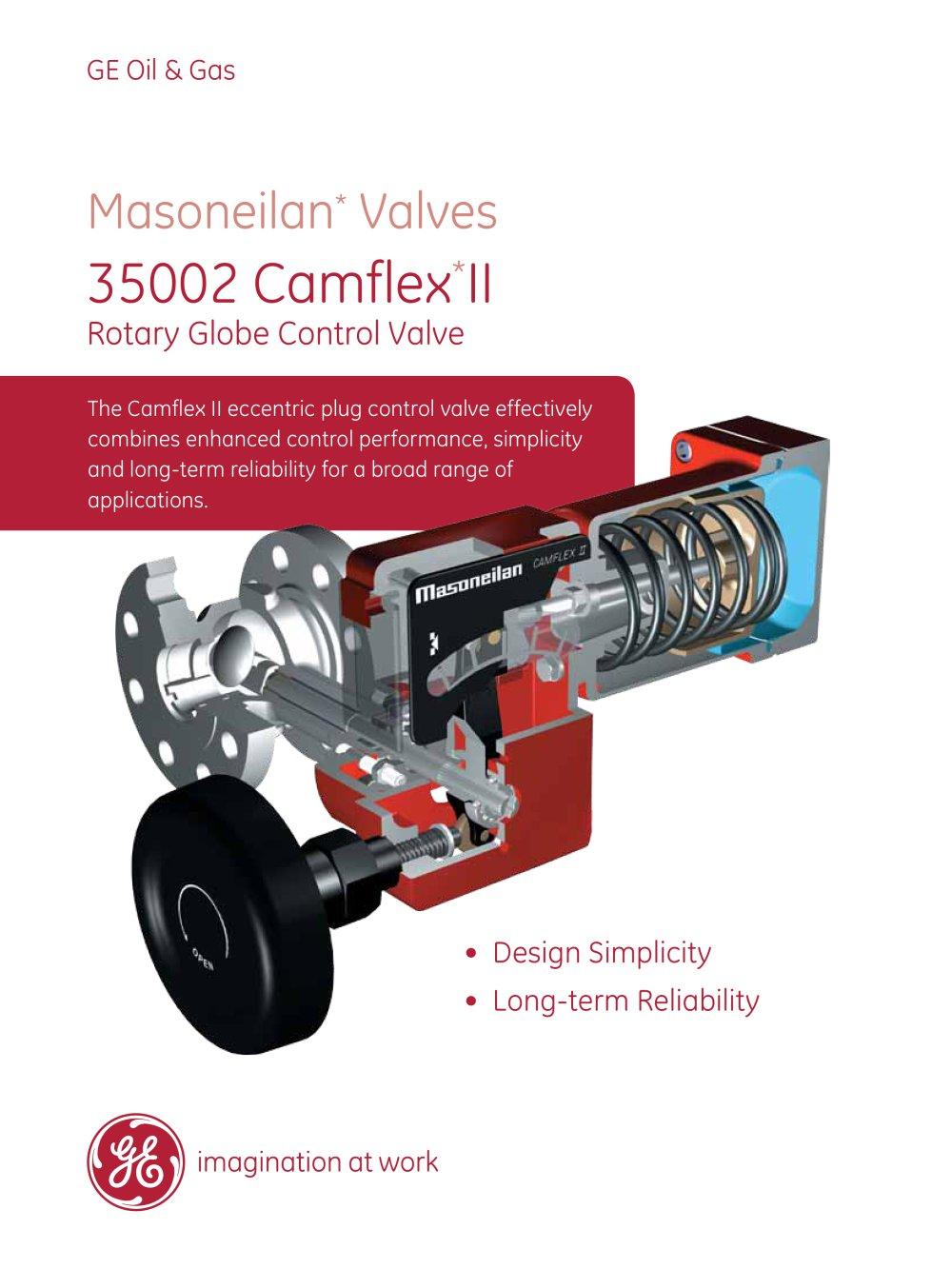 Masoneilan 35002 series camflex rotary control valve ge gas masoneilan 35002 series camflex rotary control valve 1 12 pages publicscrutiny Gallery