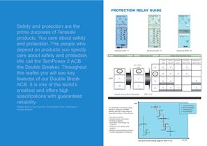 TEMPOWER 2 Air Circuit Breaker Brochure