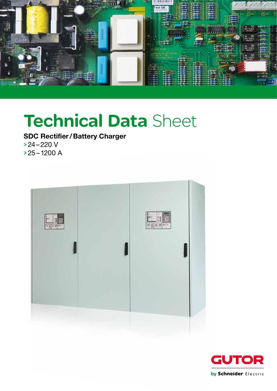 technical data sheet sdc schneider electric pdf catalogue rh pdf directindustry com Gutor Battery Monitoring System Gutor Battery Monitoring System