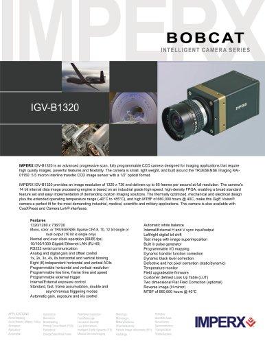 1 Megapixel HD GigE Vision (IGV-B1320) - IMPERX - PDF
