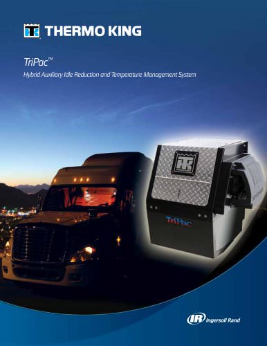 TriPac - Thermo King - PDF Catalogs | Technical Documentation | Brochure